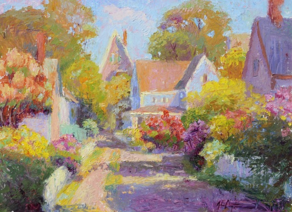 John Clayton - Cottages, Provincetown