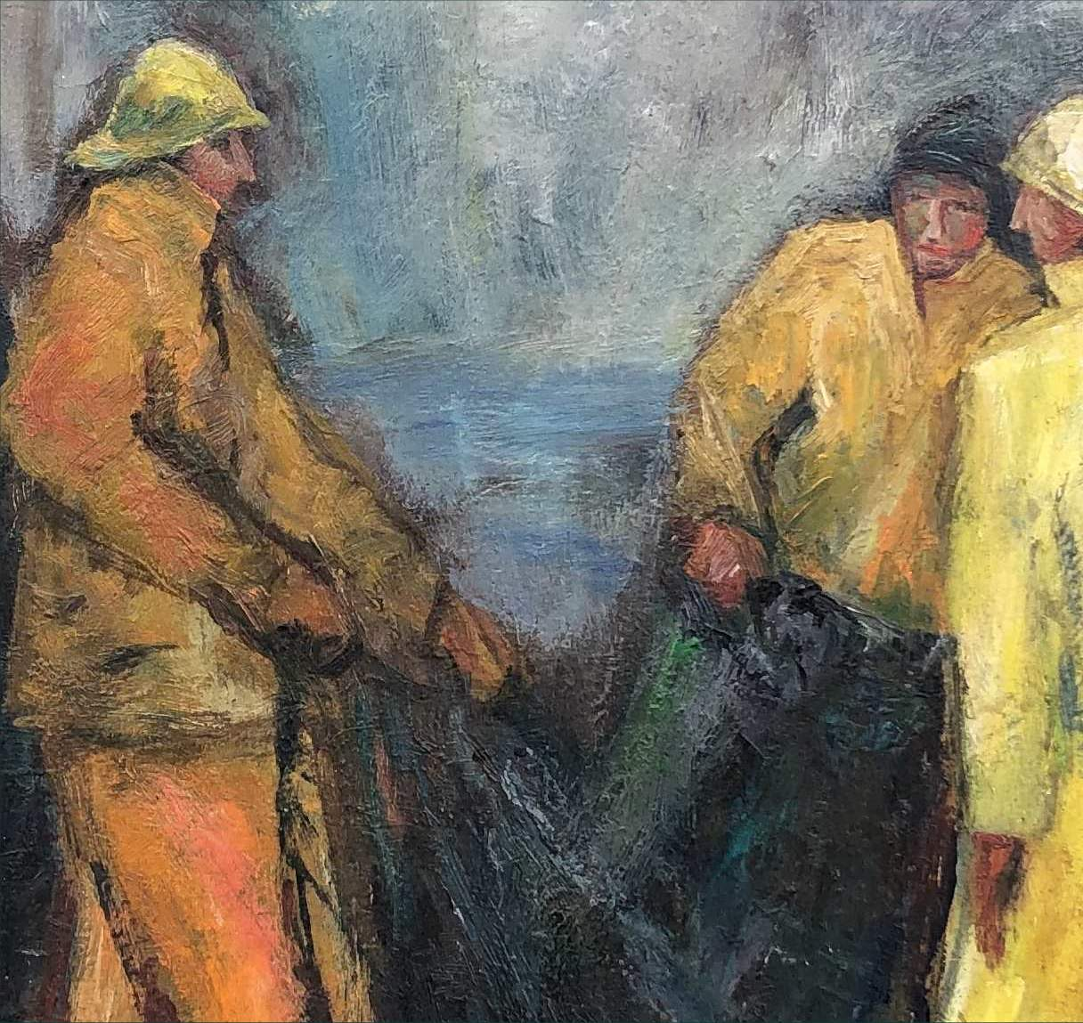 Tod Lindenmuth Seafarers painting detail